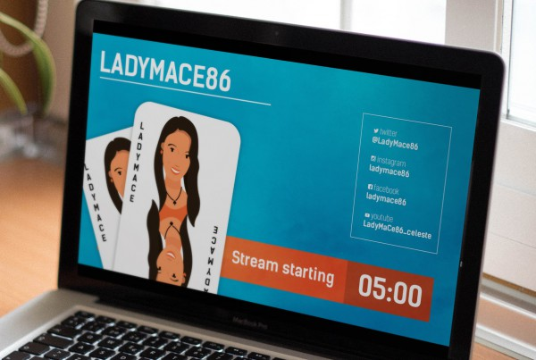 LadyMaCe86 Twitch Branding