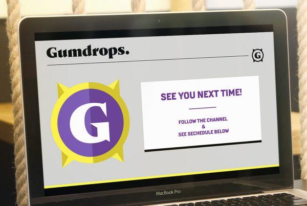 Gumdrops Twitch Branding