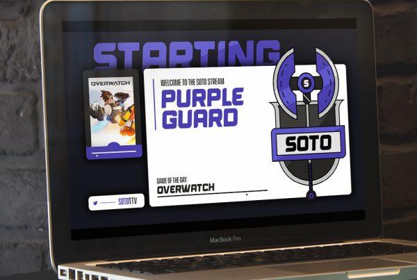 Soto Twitch Branding
